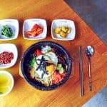 Food in Koreatown Los Angeles California
