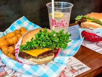 Montys Good Burger Koreatown Los Angeles